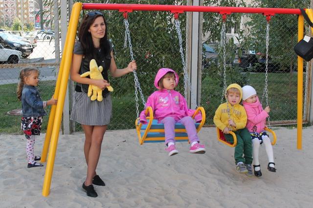 Наша детская площадка